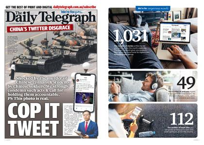 The Daily Telegraph (Sydney) – December 01, 2020
