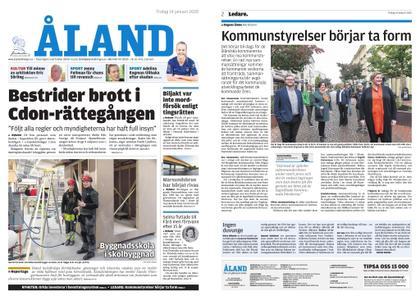 Ålandstidningen – 14 januari 2020