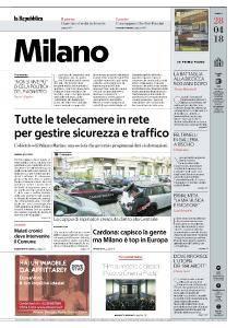 la Repubblica Milano - 28 Aprile 2018