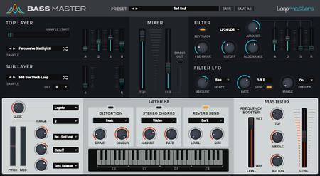 Loopmasters Bass Master v1.1.3 WiN / OSX