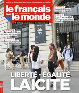 Le français dans le monde - janvier 2021