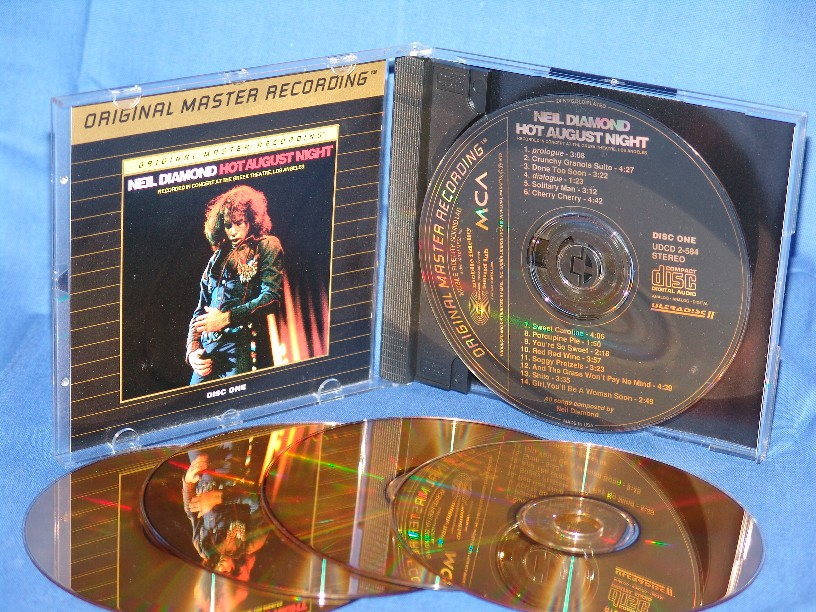 Neil Diamond - Hot August Night CD1 - MFSL