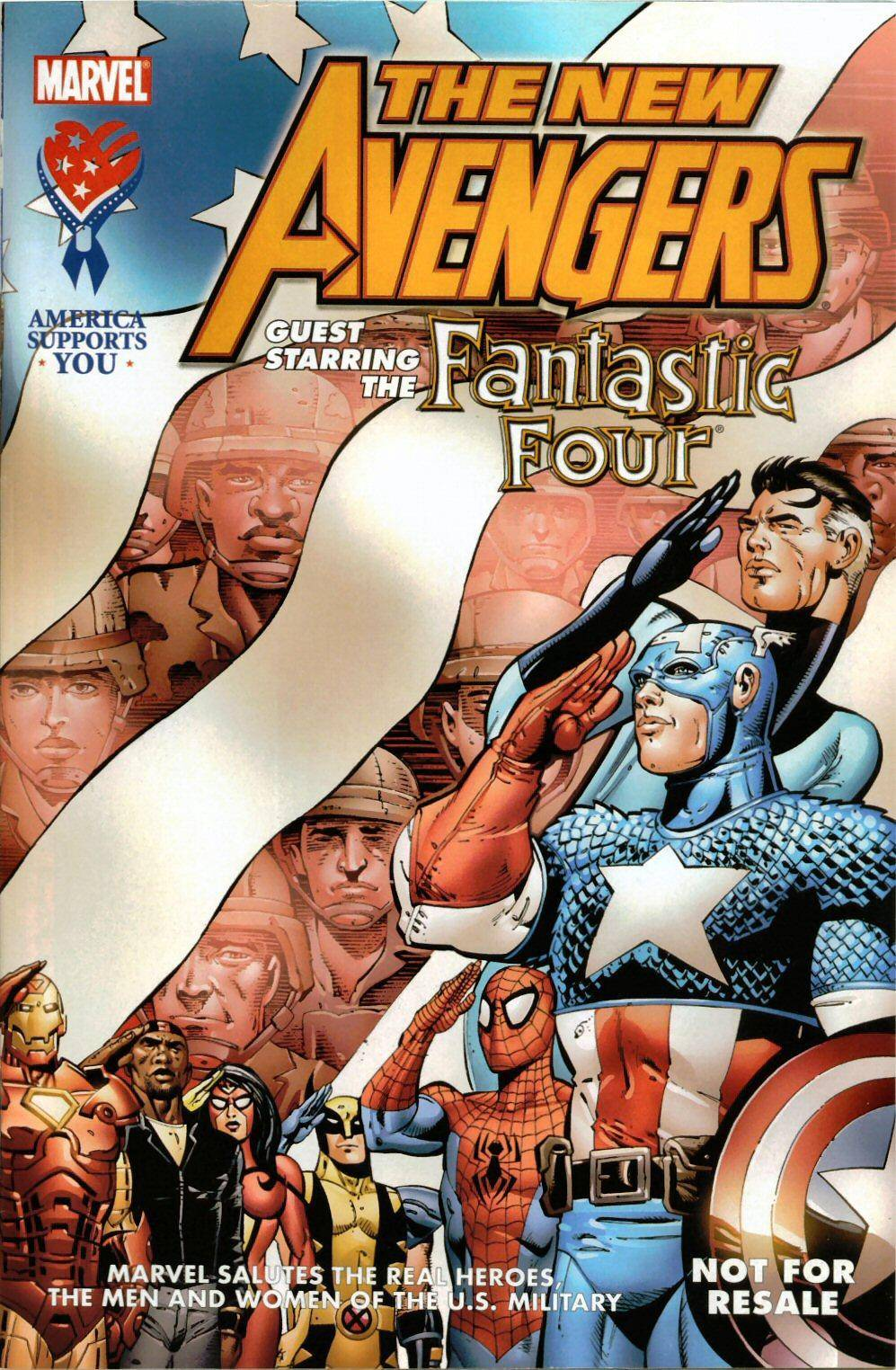 AAFES 01th Edition - New Avengers - Special Guest 2005