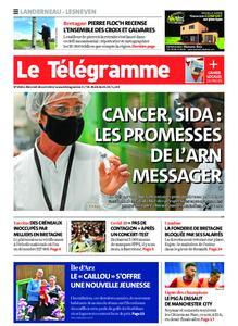Le Télégramme Landerneau - Lesneven – 28 avril 2021