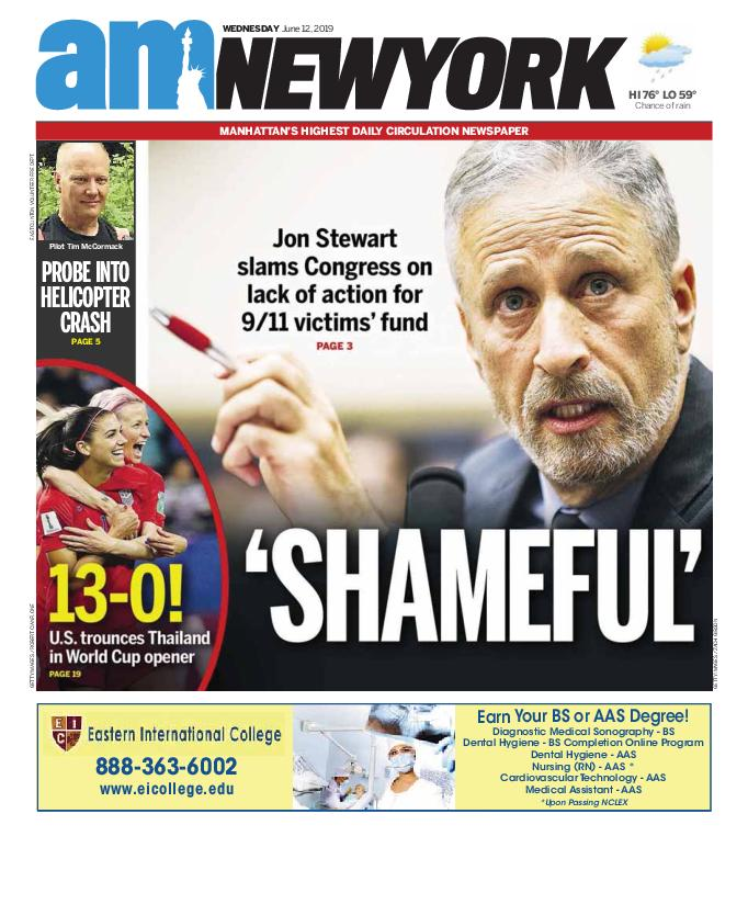 AM New York - June 12, 2019