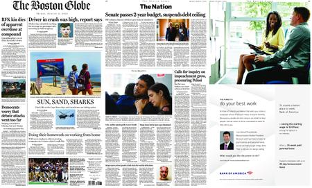 The Boston Globe – August 02, 2019