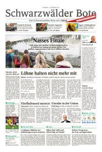 Schwarzwälder Bote Haslach - 07. Oktober 2019