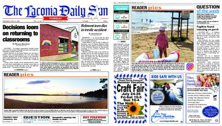 The Laconia Daily Sun – July 23, 2020