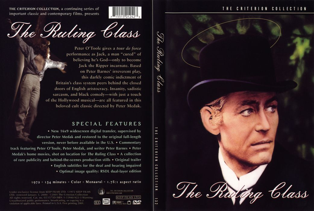 The Ruling Class (1972) [The Criterion Collection #132]
