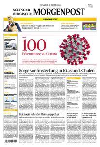 Solinger Morgenpost – 24. März 2020