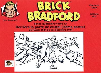 Brick Bradford - Tome 13 - Derriere la Porte de Cristal 2 (Strips)