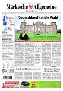 Märkische Allgemeine Dosse Kurier - 23. September 2017