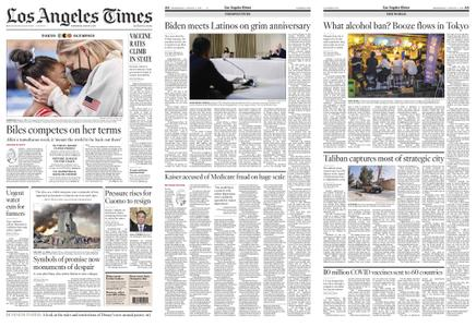 Los Angeles Times – August 04, 2021