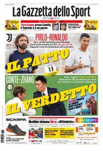 La Gazzetta dello Sport Roma – 25 agosto 2020