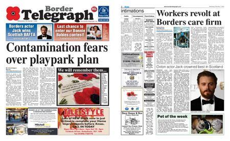 Border Telegraph – November 07, 2018