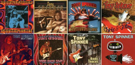 Tony Spinner - The Albums Collection (1993 - 2013) Re-Up