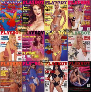 Playboy USA - Full Year 2000 Issues Collection