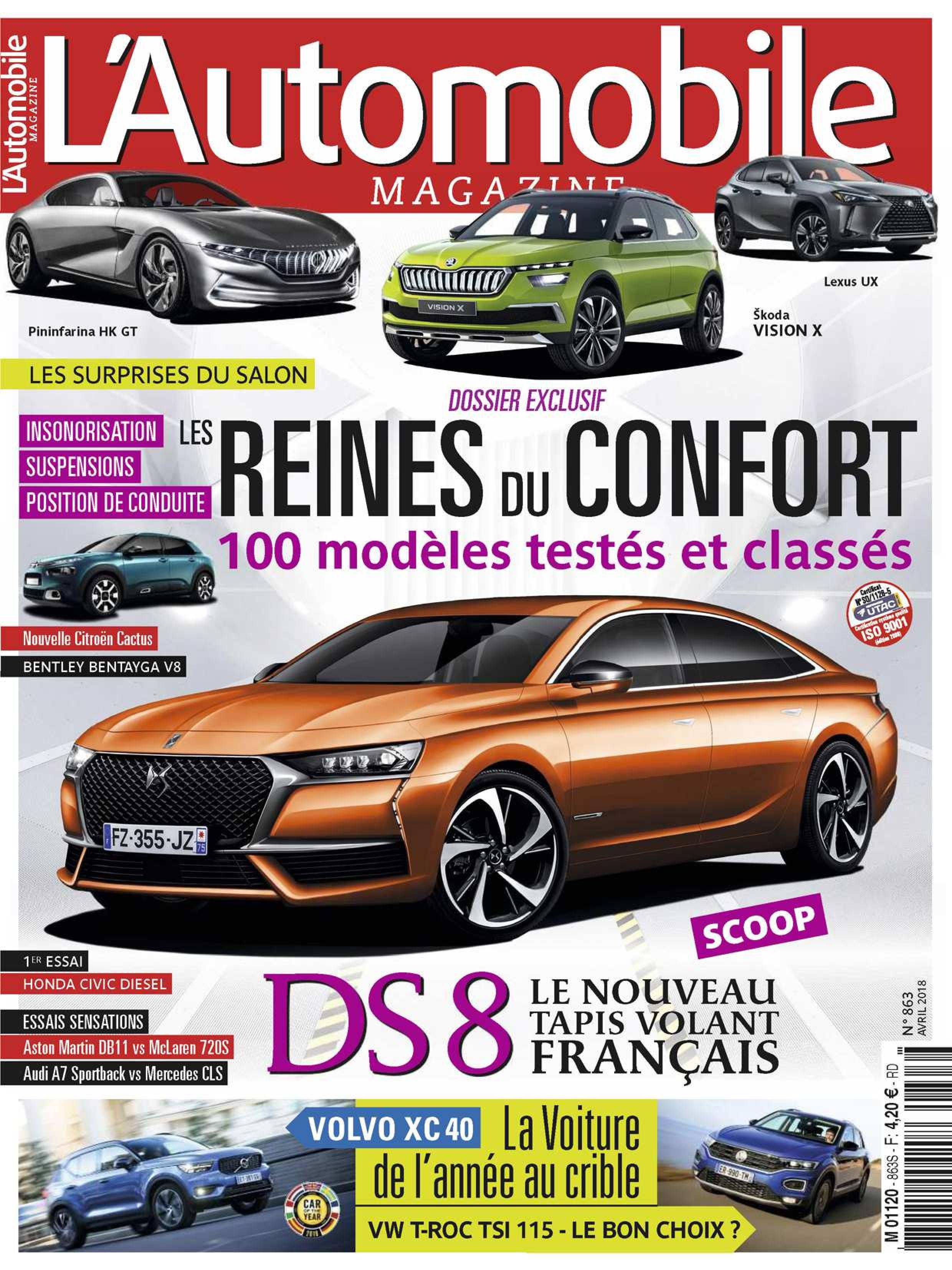 L'Automobile Magazine - avril 2018