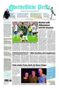 Oberhessische Presse Marburg/Ostkreis - 18. Juni 2018