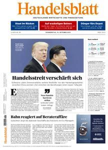 Handelsblatt - 10. Oktober 2019