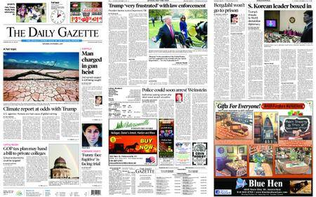 The Daily Gazette – November 04, 2017