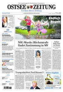 Ostsee Zeitung Wolgast - 12. Juli 2018
