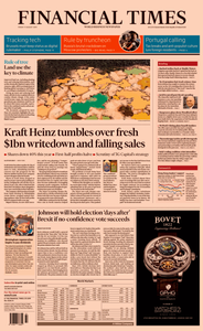 Financial Times UK – 09 August 2019