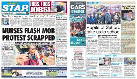Shropshire Star Shrewsbury Edition – August 31, 2017