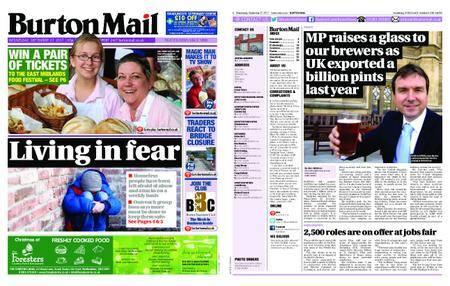 Burton Mail – September 27, 2017