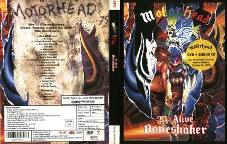 Motörhead - 25 & Alive (2001) [CD & DVD]