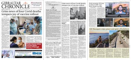 Gibraltar Chronicle – 11 January 2021