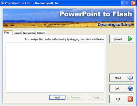 PowerPoint To Flash - Version 2.0.1.736