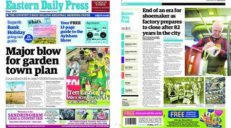 Eastern Daily Press – August 23, 2018