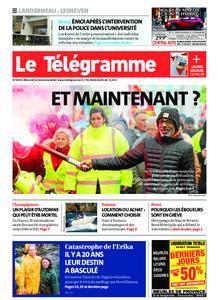 Le Télégramme Landerneau - Lesneven – 11 décembre 2019