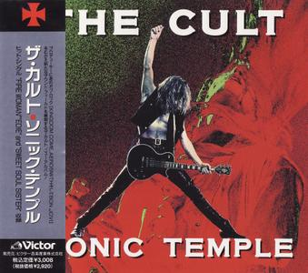 The Cult - Sonic Temple (1989) [VDP-1424, Japan]