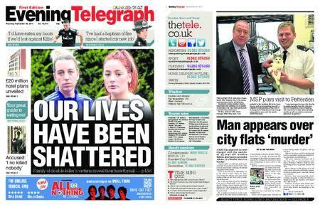 Evening Telegraph First Edition – September 28, 2017