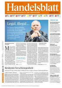 Handelsblatt - 06. April 2016