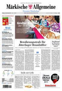 Märkische Allgemeine Zossener Rundschau - 24. November 2017