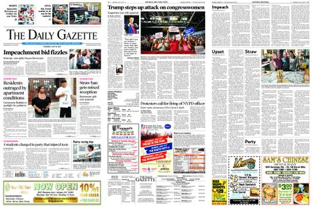 The Daily Gazette – July 18, 2019