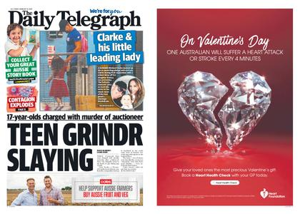 The Daily Telegraph (Sydney) – February 14, 2020