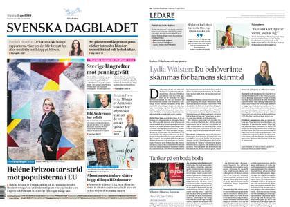 Svenska Dagbladet – 15 april 2019