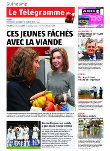 Le Télégramme Guingamp – 14 octobre 2019