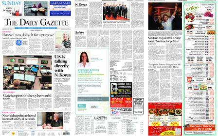 The Daily Gazette – October 01, 2017