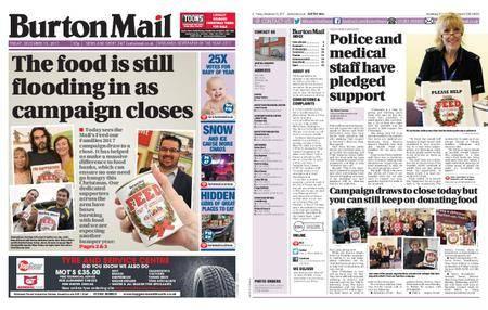 Burton Mail – December 15, 2017