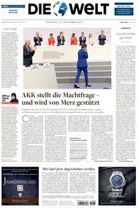 Die Welt - 23 November 2019