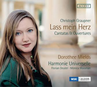 Dorothee Mields & Harmonie Universelle - Graupner: Lass mein Herz (2018)