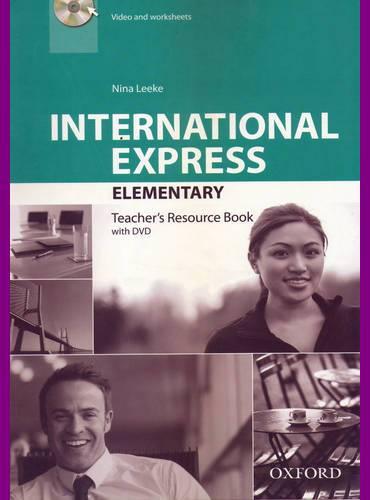 ENGLISH COURSE • International Express • Elementary • Third Edition • Teacher's Resource Book (2014)