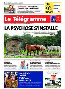 Le Télégramme Ouest Cornouaille – 05 septembre 2020