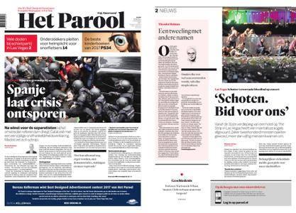 Het Parool – 02 oktober 2017