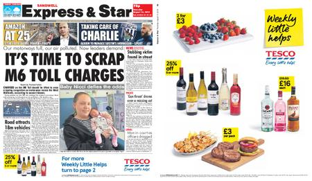Express and Star Sandwell Edition – August 15, 2019